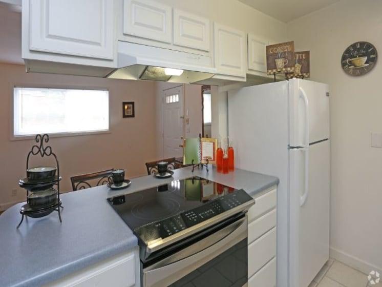 Kitchen Model - Range View
