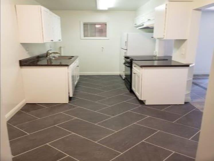 Renovated Kitchen View
