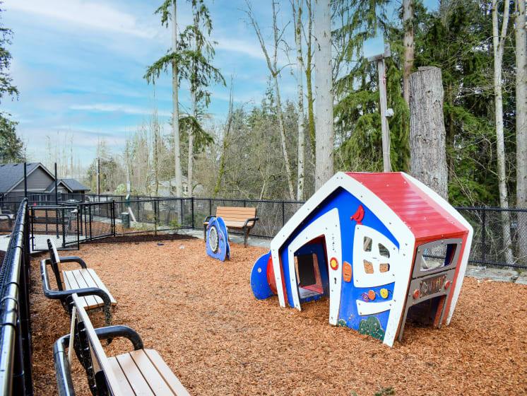 Outdoor Playground at Manor Way, Everett Washington