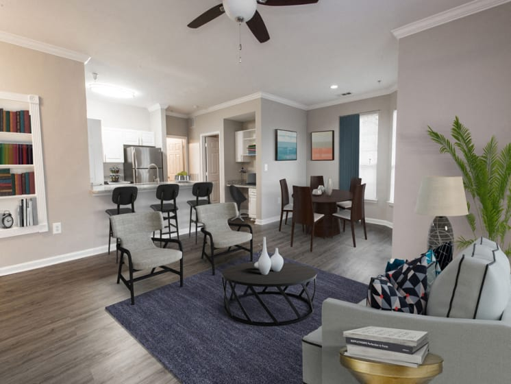 Riverstone at Owings Mills Renovated Living Area