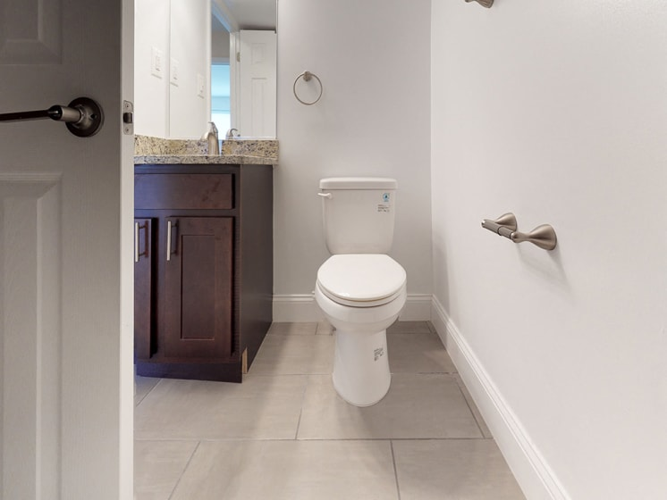 view of bathroom in apartment unit