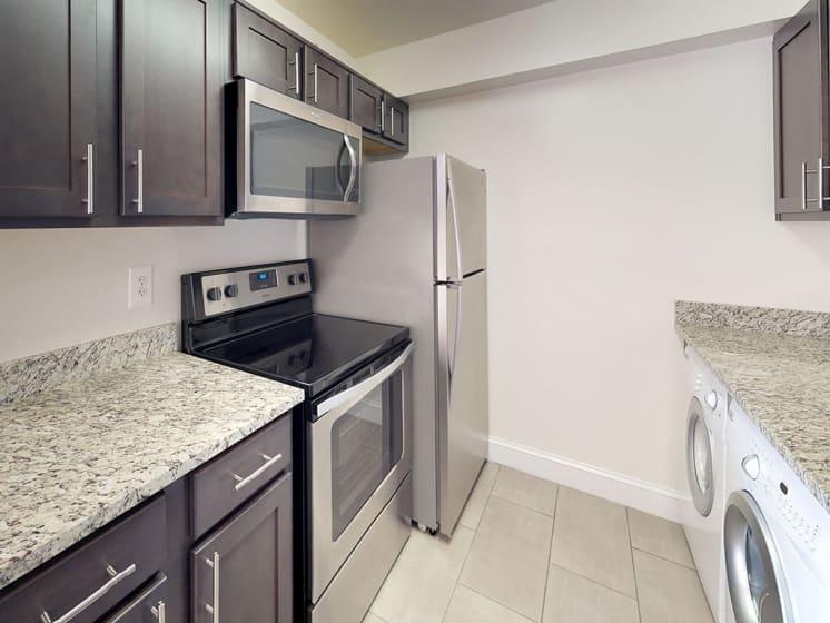 Efficient Appliances In Kitchen at Stuart Woods, Virginia, 20170