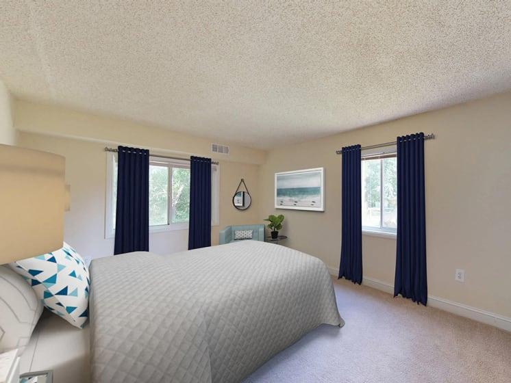 Master Bedroom at Stuart Woods, Herndon