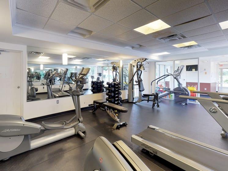 fitness center for residents