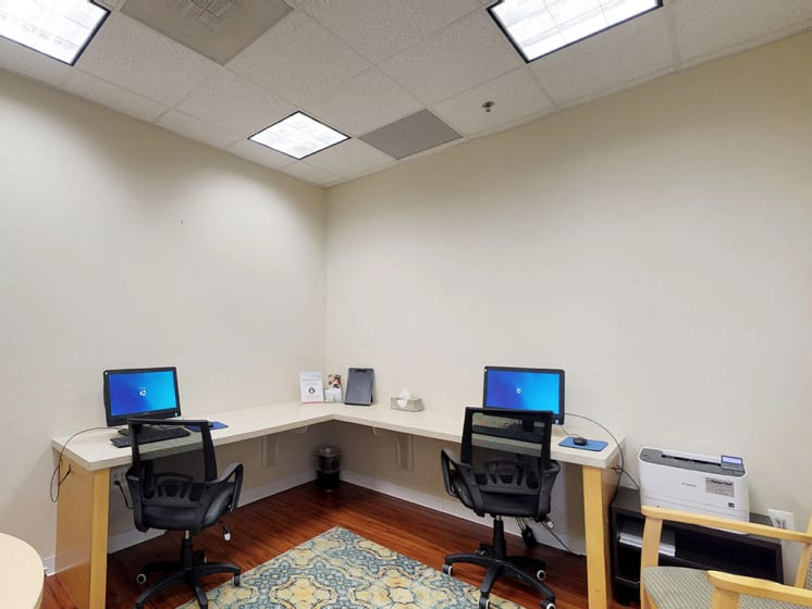 business center at Woodlee Terrace Apartments, Woodbridge, 22192