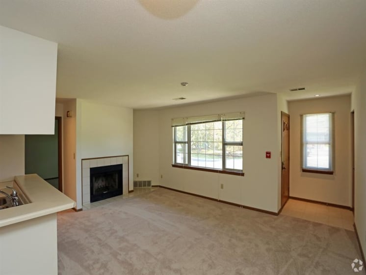 Graceful Living Area at Deer Run Apartments, Brown Deer, WI