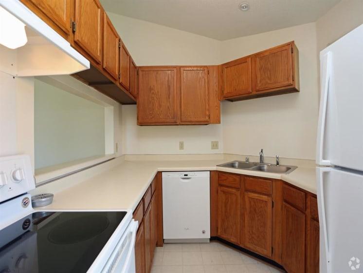 Kitchen Facilities at Deer Run Apartments, Wisconsin, 53223