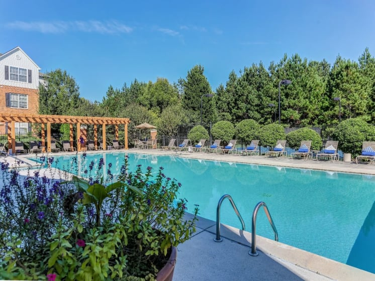 Turquoise Swimming Pool at Tramore Village Apartment Homes, Austell