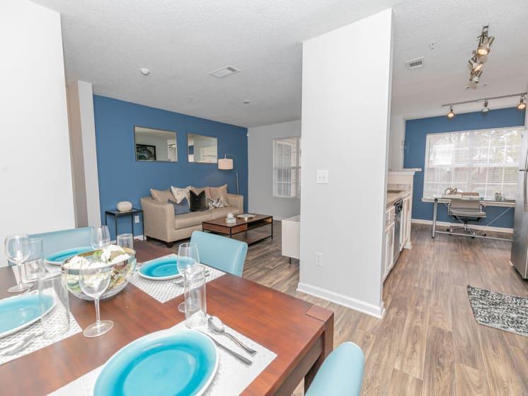 Elegant Dining Area at Tramore Village Apartment Homes, Georgia, 30106