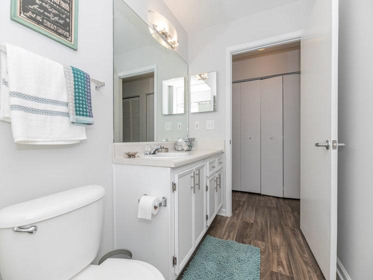 Bright Bathroom at Tramore Village Apartment Homes, Georgia