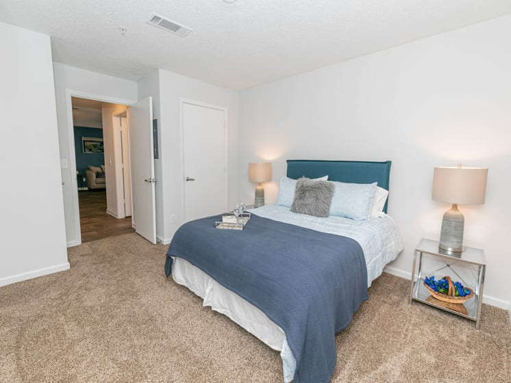 Large Comfortable Bedrooms With Closet at Tramore Village Apartment Homes, Austell, GA, 30106