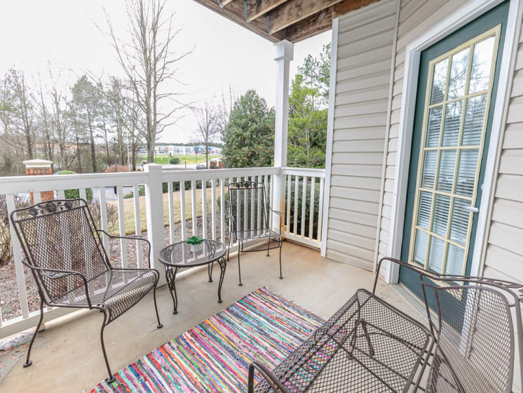 Private Patio And Balcony at Tramore Village Apartment Homes, Austell, 30106