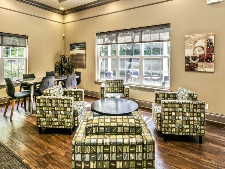 Remodeled Clubhouse at Landings Apartments, The, Nebraska, 68123