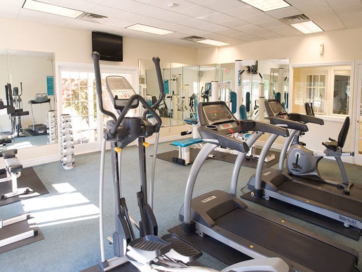 Fitness Center at Dannybrook Apartments, Williamsville, NY