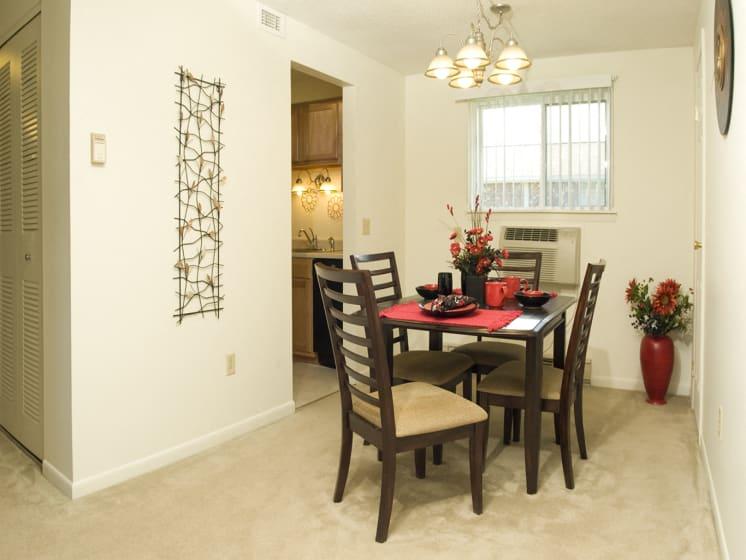 Spacious Dining Room at Bradford Manor Apartments, Hamlin, NY