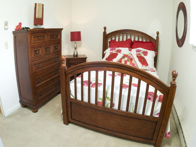 Bright Bedroom at Bradford Manor Apartments, Hamlin, NY