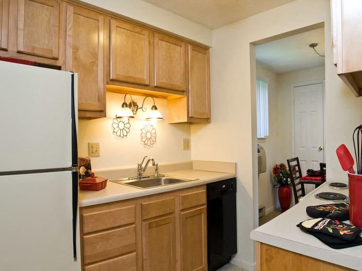 Beautiful Kitchen at Bradford Manor Apartments, Hamlin, NY