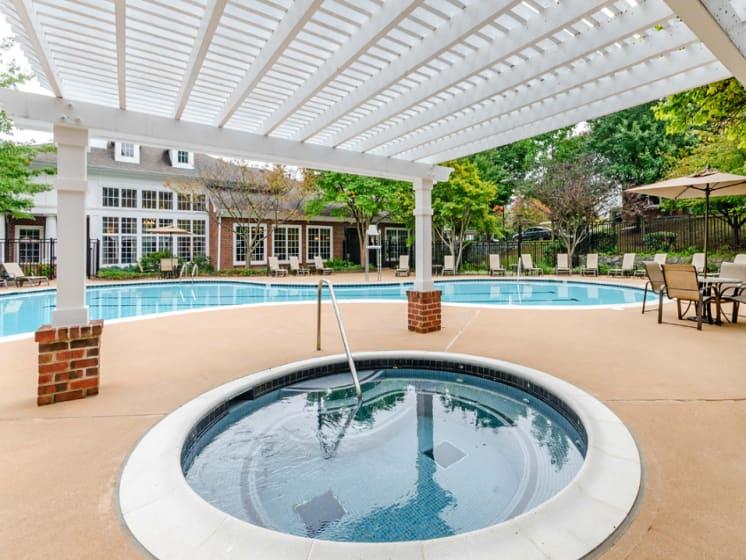 Swimming Pool Spa, Riverstone at Owings Mills