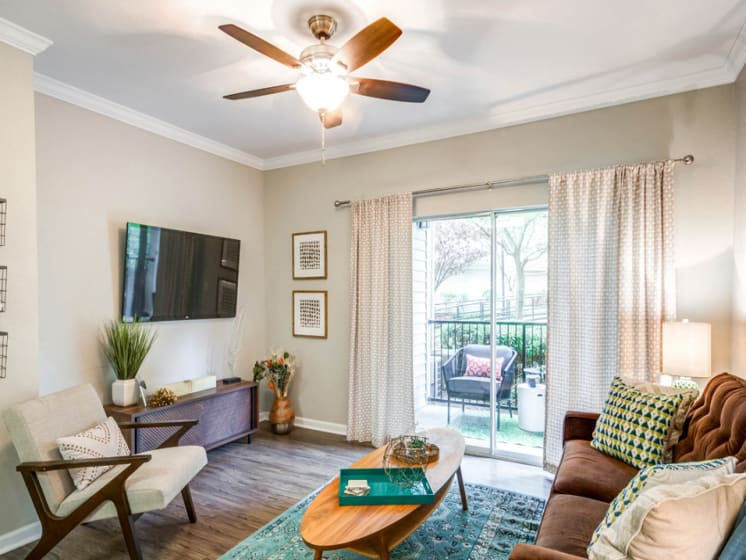 Renovated Living Room, Riverstone at Owings Mills