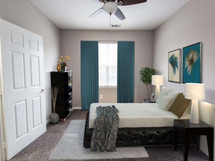 Riverstone at Owings Mills Renovated Bedroom