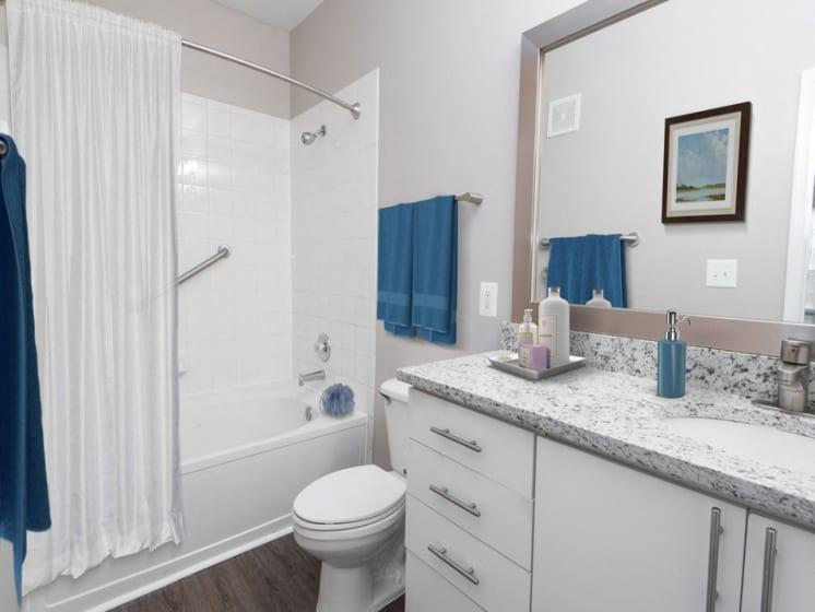 Riverstone at Owings Mills Renovated Bathroom