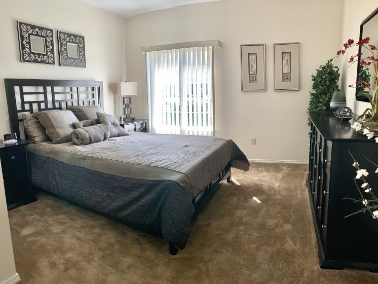 Spacious Master Bedroom at Blueberry Hill Apartments, Rochester, NY