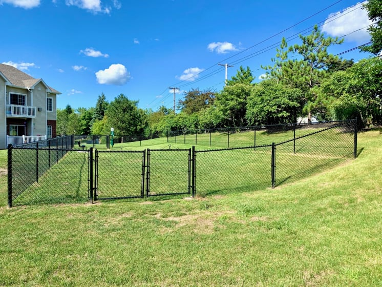 Large Dog Run at Blueberry Hill Apartments, Rochester, NY