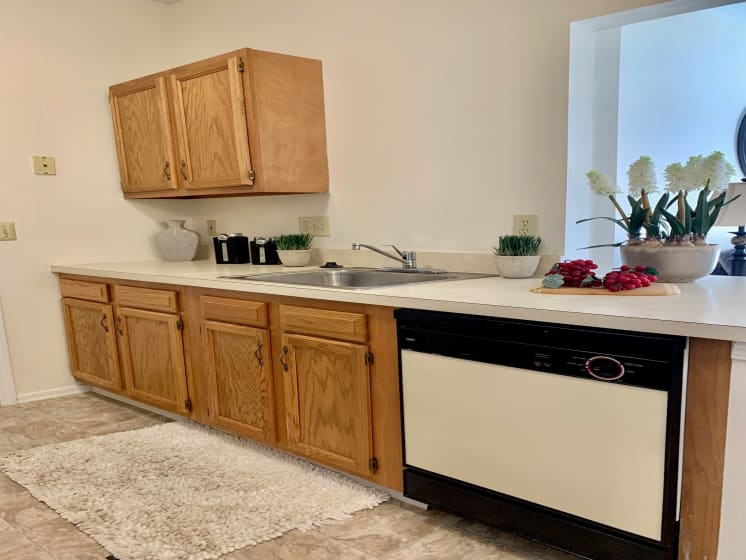 Updated Kitchen at Blueberry Hill Apartments, Rochester, NY