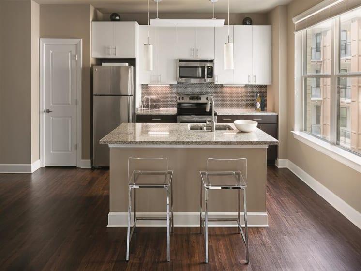 Premium Finish Kitchen Package at The Edison Lofts Apartments, North Carolina