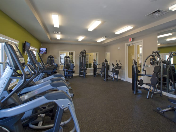 Health and Fitness Center at Phillips Mallard Creek Apartments, Charlotte, NC 28262