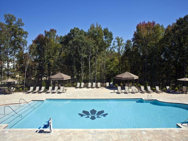Resort-Style Pool at Phillips Mallard Creek Apartments, NC