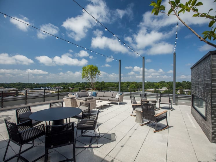 What a View from The Brody Terrace!