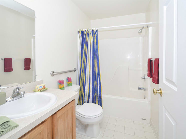 Bathroom with Large Counter Space