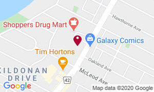 1110 Henderson Map