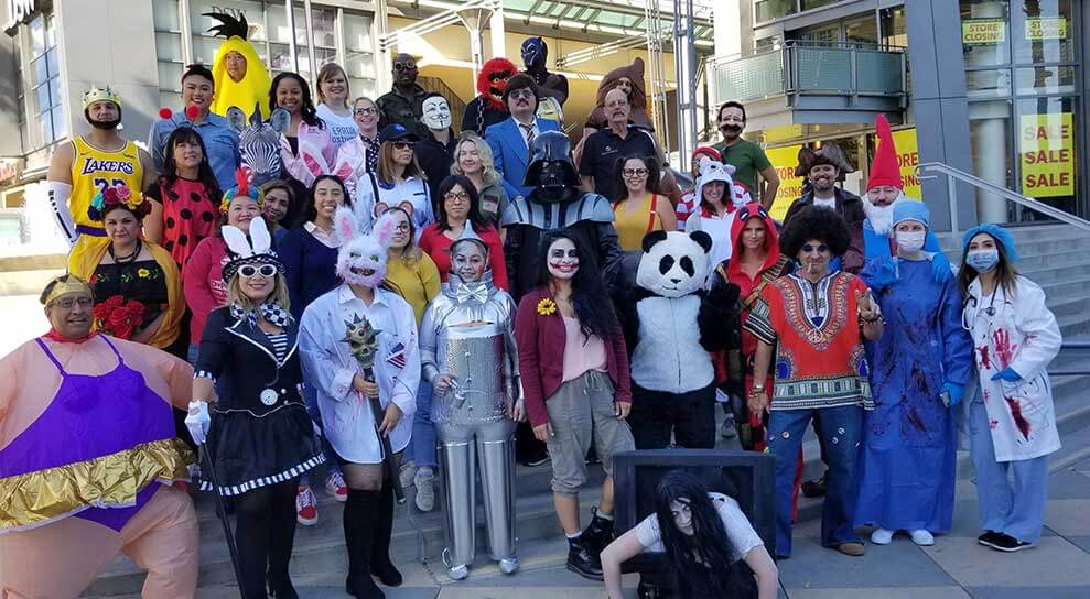 Our Purpose Team Halloween