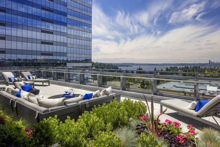 Rooftop Lounge at Two Lincoln Tower, Washington, 98004