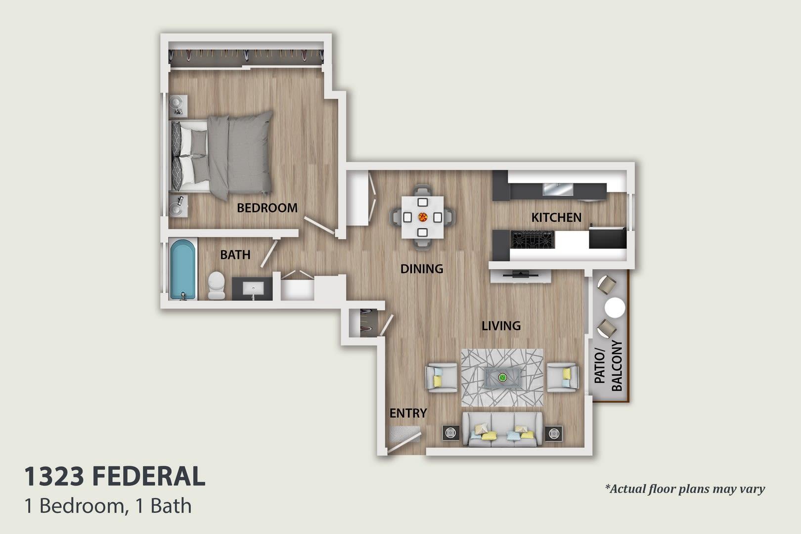 Floor Plans Of 1323 Federal Ave In Los Angeles Ca
