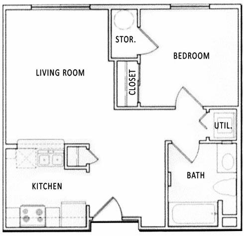 1 2 3 Bedroom Floor Plans Citifront Apartments Salt Lake City Ut