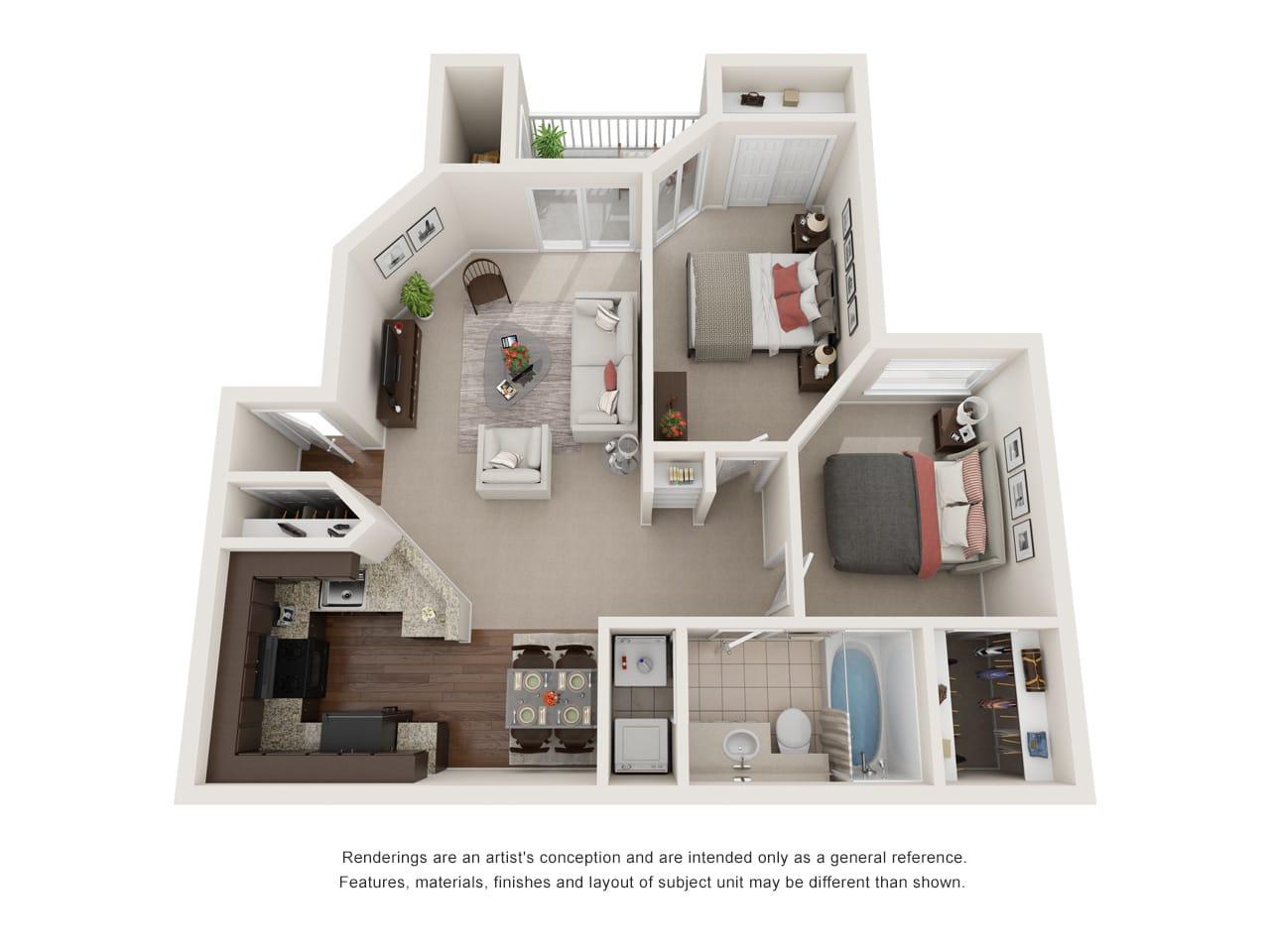 Floor Plans Of Edgewater At Sandy Springs Apartments In Sandy Springs Ga
