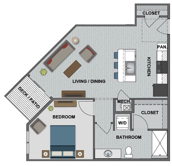 Floor Plans Of The Edison At Bridlespur In Kansas City Mo
