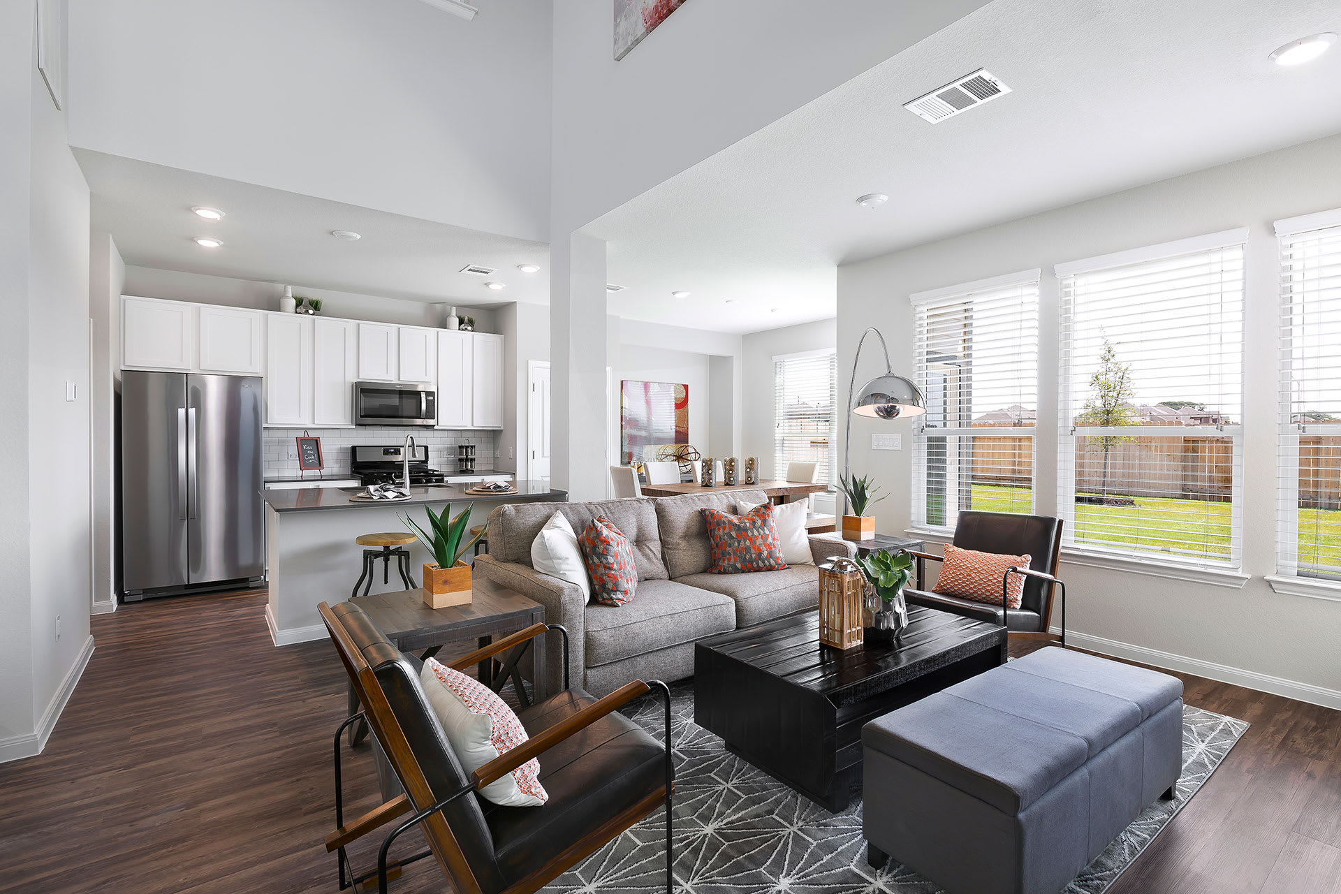 Rivers Edge Apartments Furnished Apartment Interior with Modern Finishes