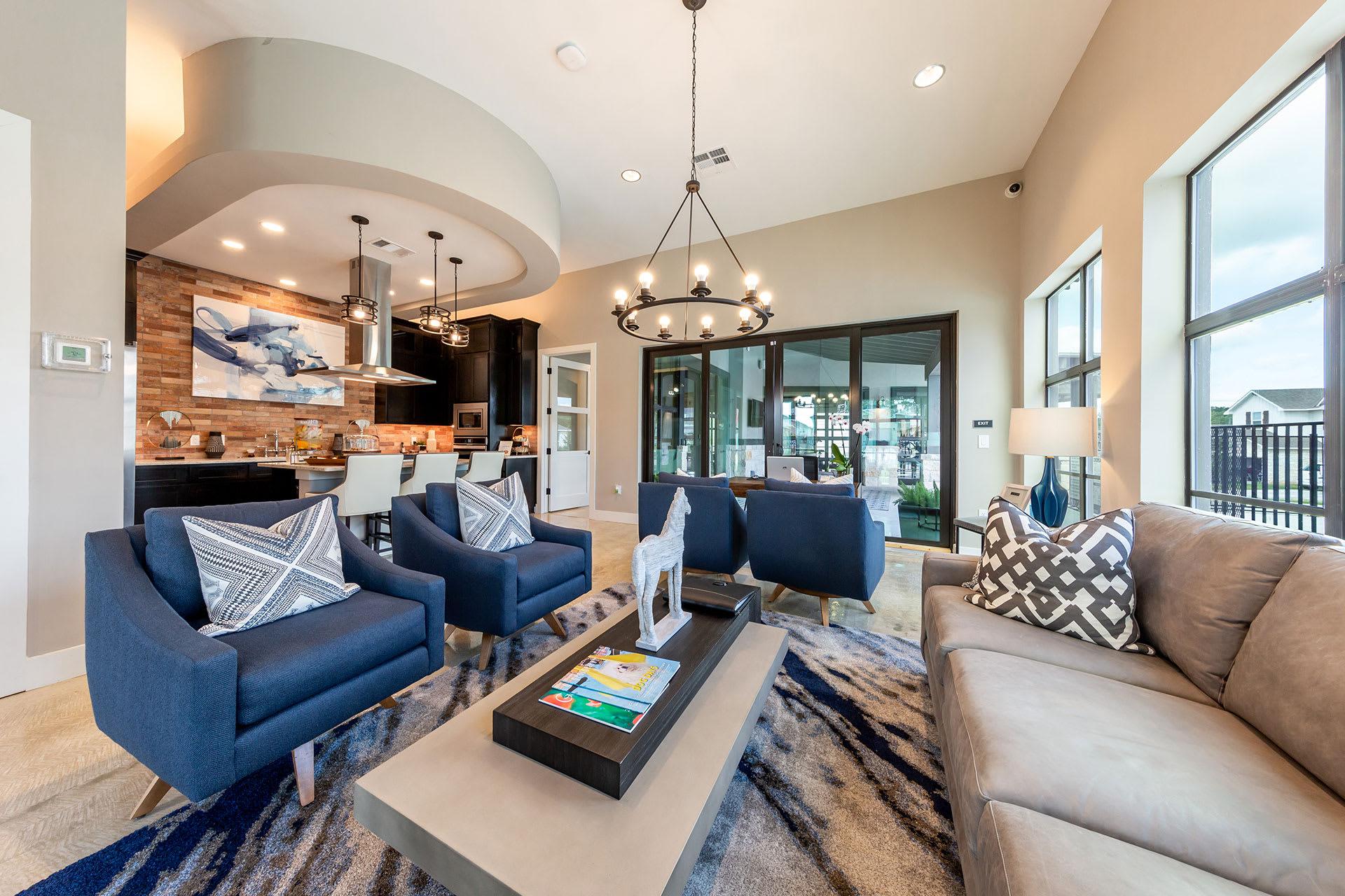 Rivers Edge Apartments Lobby Lounge