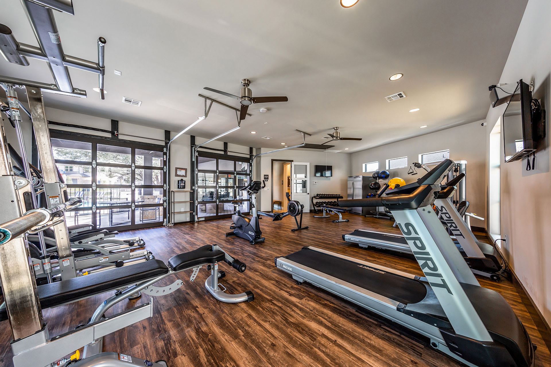 Rivers Edge Apartments Fully-Equipped Fitness Center