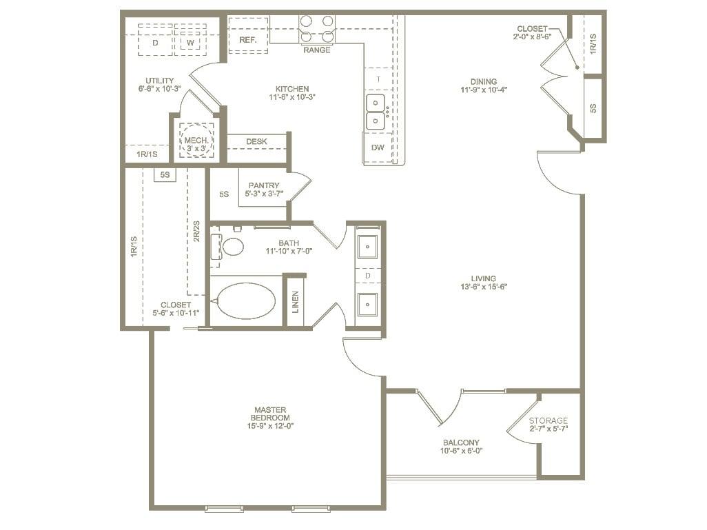 annandale Floor plan 1