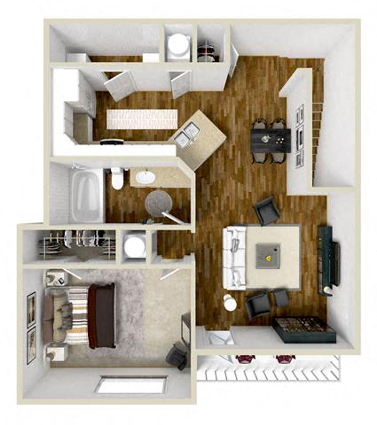 1 2 3 Bedroom Apartments In Flowood Ms Carlton Park Apartments