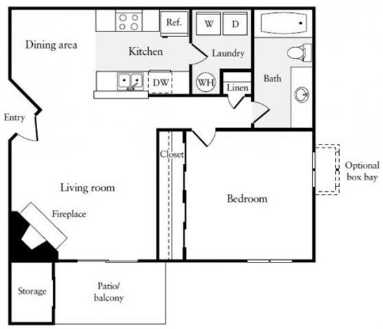1 2 Bedroom Floor Plans Terracina Apartment Homes In Ontario Ca