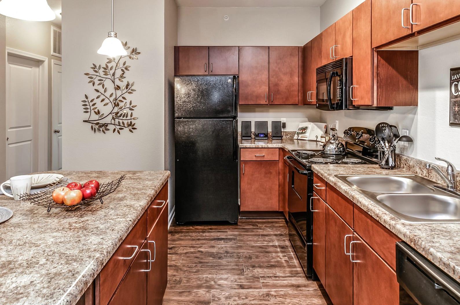 Granite Kitchen Worktops at Legacy Commons, Omaha