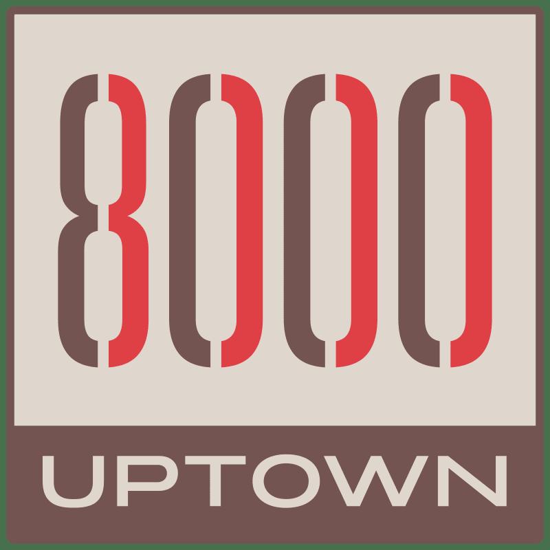 8000 Uptown Logo
