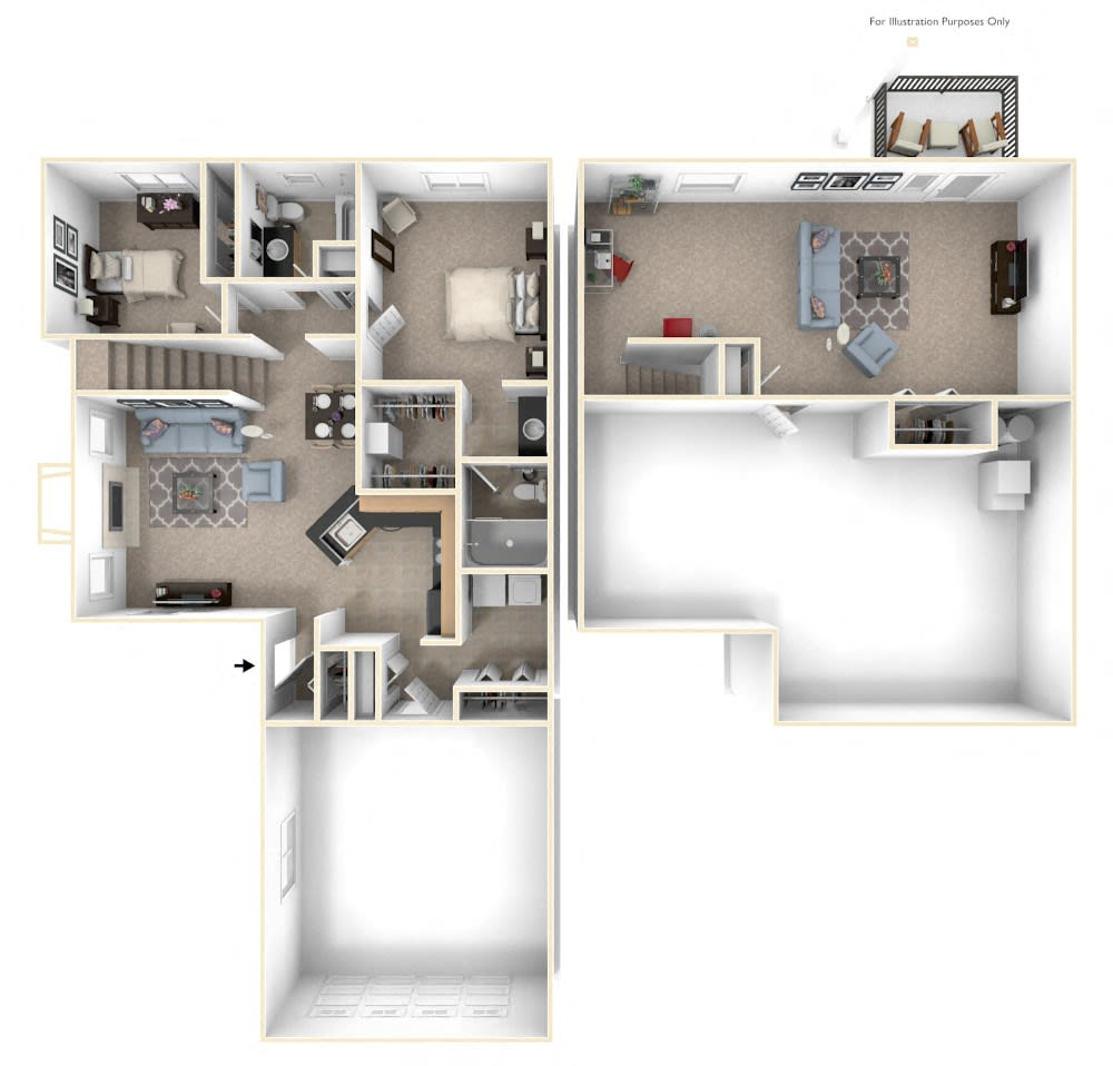 1 2 3 Bedroom Apartments In Elkhorn Ne Lynbrook Apartment Homes Townhomes