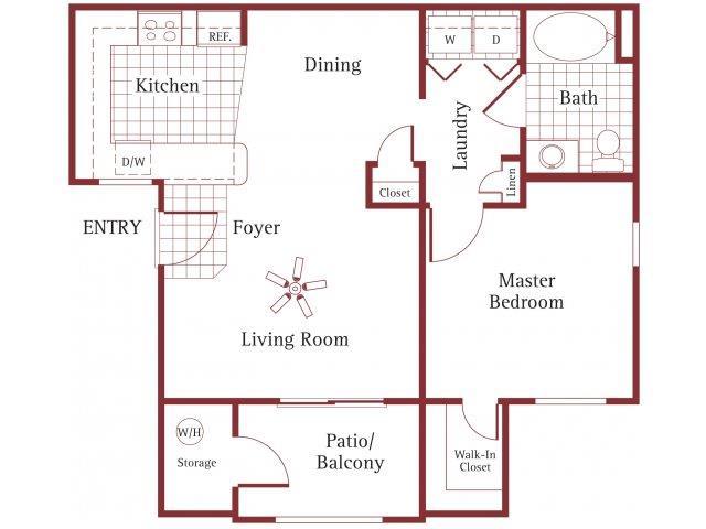 Floor Plans La Borgata Apartments Surprise Az